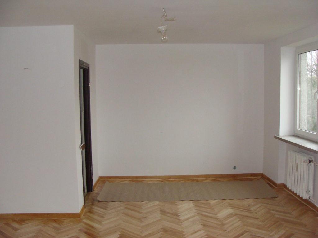 Wykonanie podłogi drewnianej z cyklinowaniem