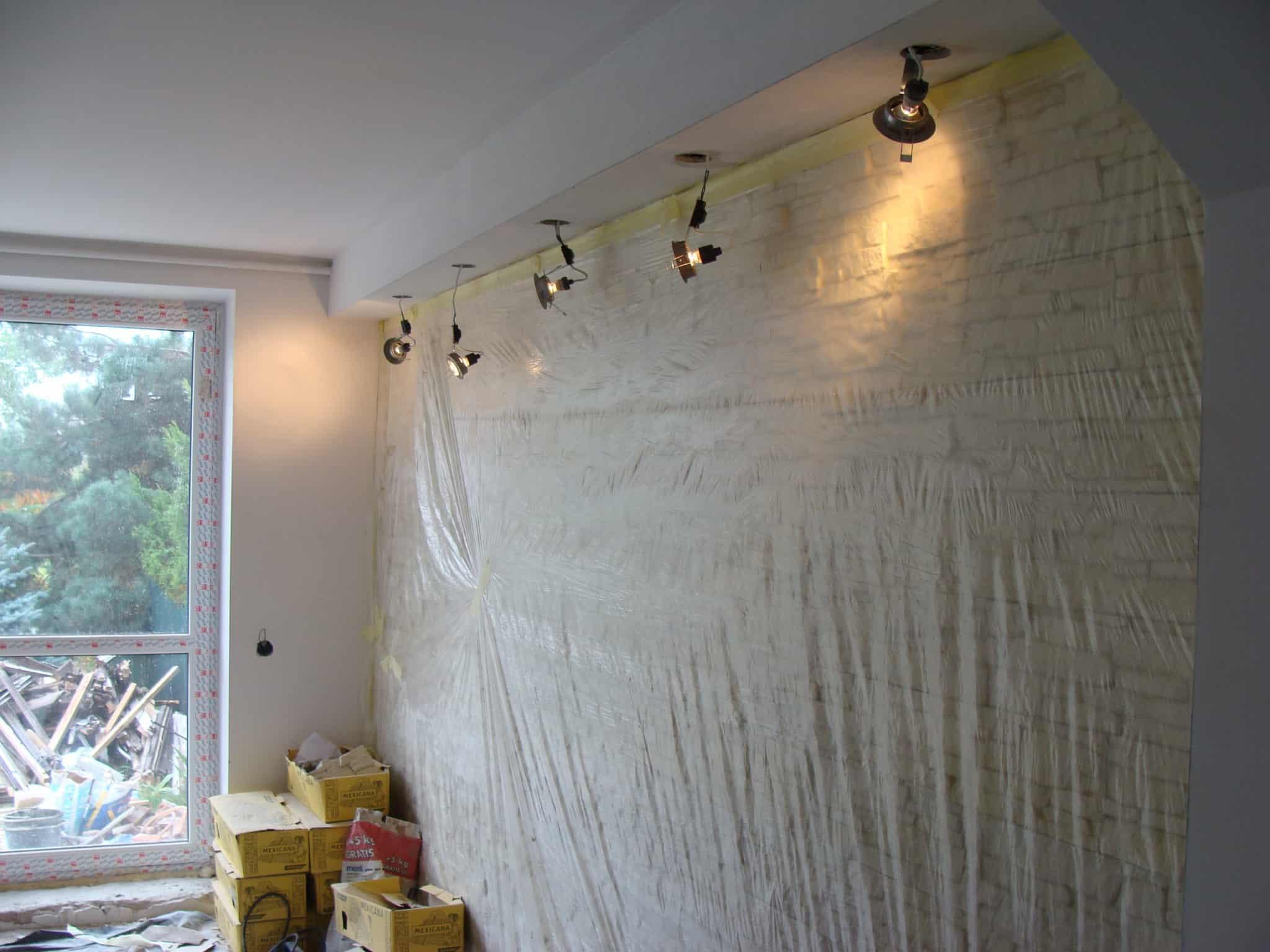 Zabezpieczenie ściany przed malowaniem
