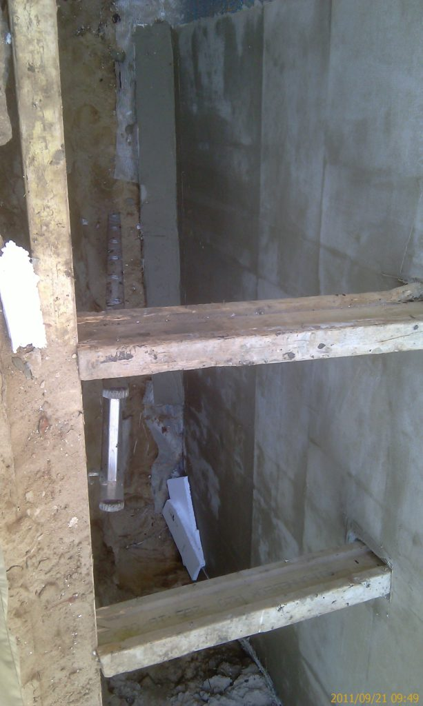 Ocieplenie garażu po naprawie wodochronnej