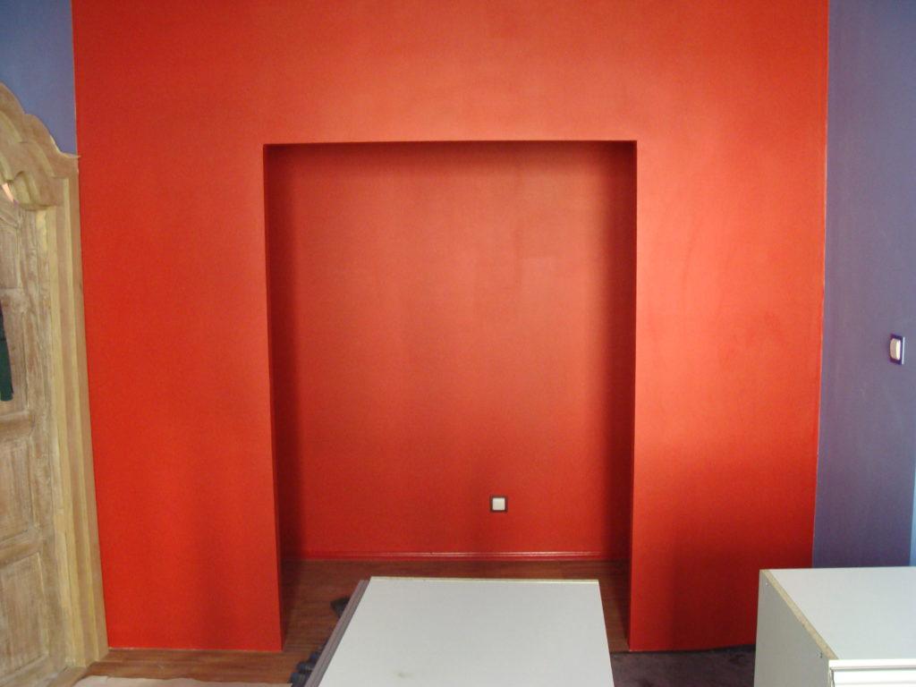 ściana karton gips do szafy