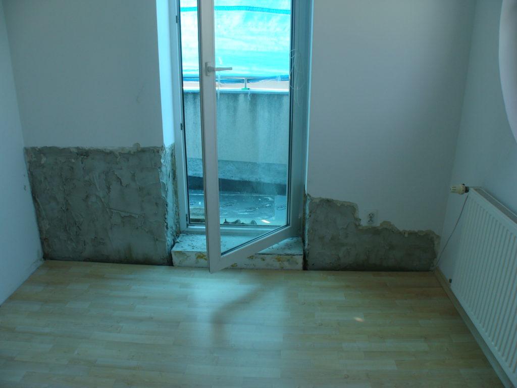 Wymiana parkietu i renowacja ścian