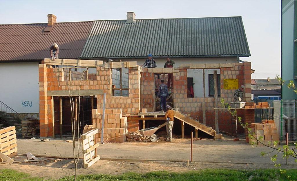 budowanie domu od zera - murowanie