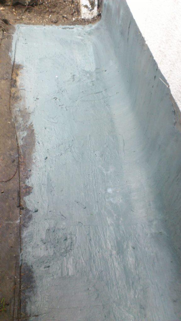 Prawidłowo wykonana hydroizolacja podłogi i ściany
