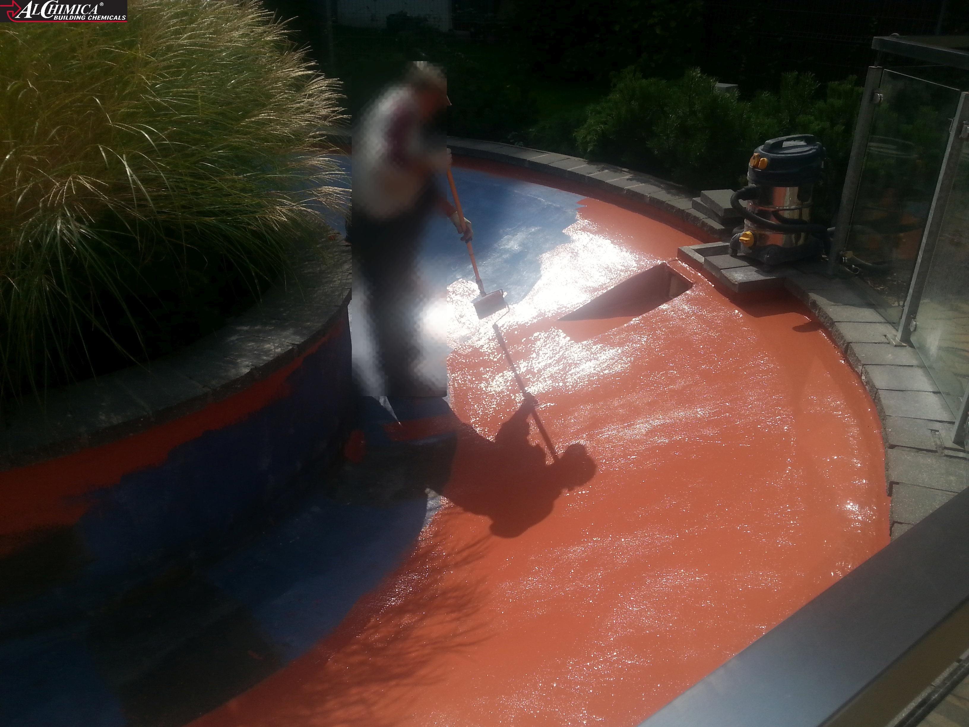 malowanie hyperdesmo - izolacja basenu